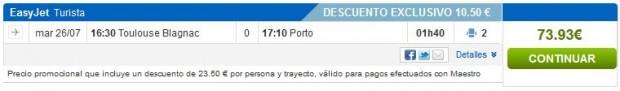 Toulouse >> Porto