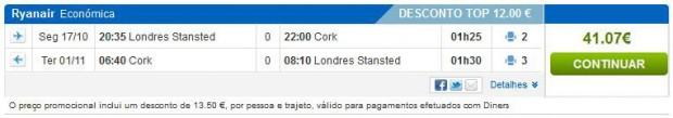 London >> Cork >> London