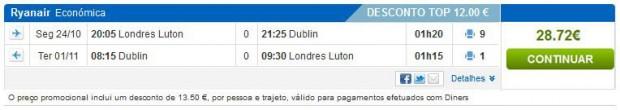 London >> Dublin >> London