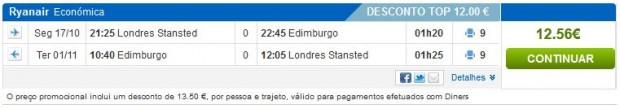 London >> Edinburgh >> London