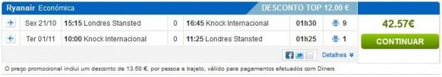 London >> Knock >> London