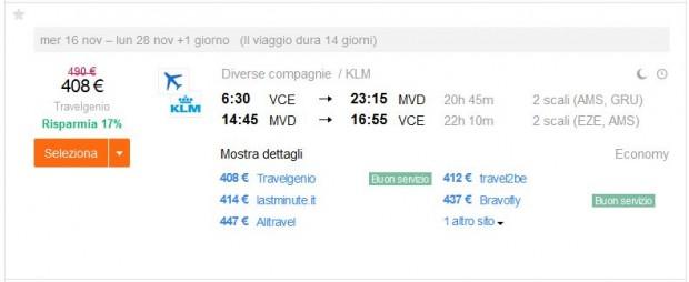 Venecija >> Montevideo >> Venecija