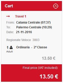 Catania >> Palermo