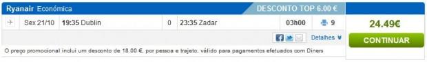 Dublin >> Zadar