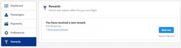 My Ryanair signup - vaučer od 10€ je vaš