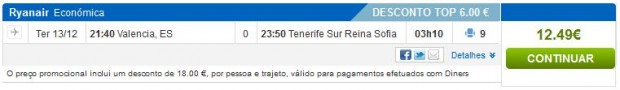 Valencia >> Tenerife