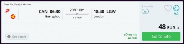 Guangzhou >> London