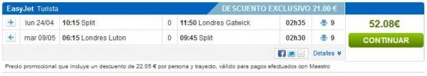 Split >> London >> Split