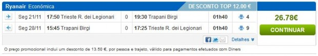 Trst >> Trapani >> Trst