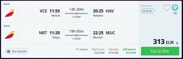 Venecija >> Havana + Tokio >> Minhen
