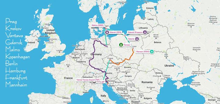 Putovanje u Europu