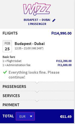 Budapest >> Dubai