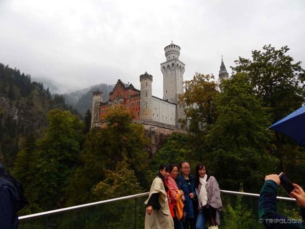 Prvi vidikovac ispod samog dvorca je odlično mjesto za slikanje