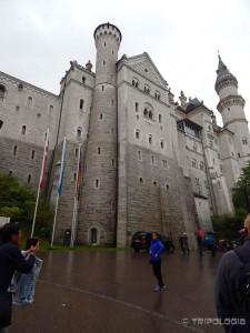 Ispred Neuschwanstein dvorca