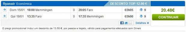 Minhen (Memmingen) >> Faro >> Minhen (Memmingen)