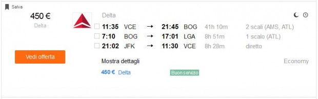 Venecija >> Bogota >> New York >> Venecija