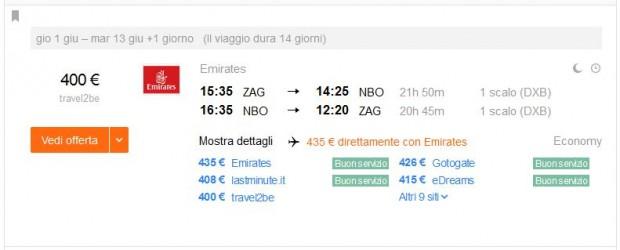 Zagreb >> Nairobi >> Zagreb