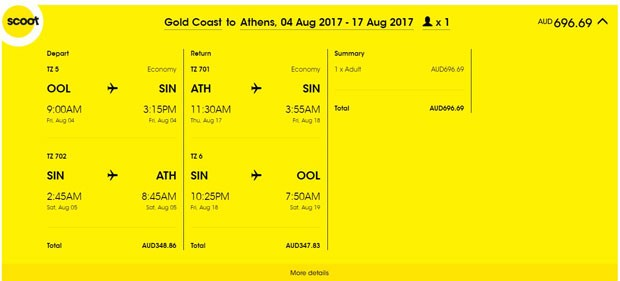 Gold Coast >> Atena >> Gold Coast