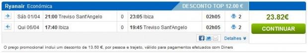 Venecija (Treviso) >> Ibiza >> Venecija (Treviso)