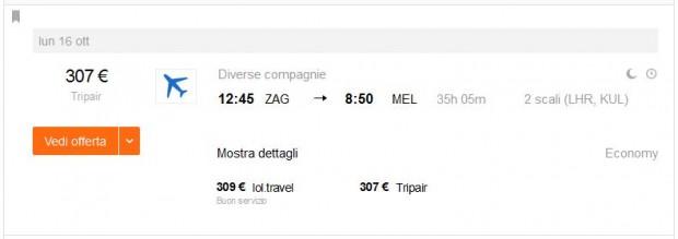 Zagreb >> Melbourne