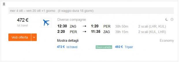 Zagreb >> Perth >> Zagreb
