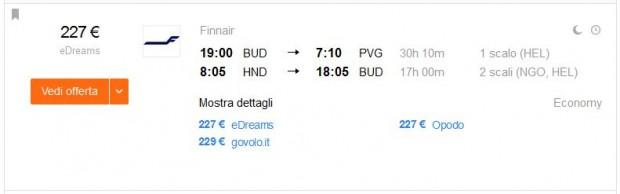 Budimpešta >> Shanghai + Tokio >> Budimpešta