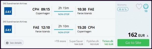Kopenhagen >> Vagar (Farski otoci) >> Kopenhagen