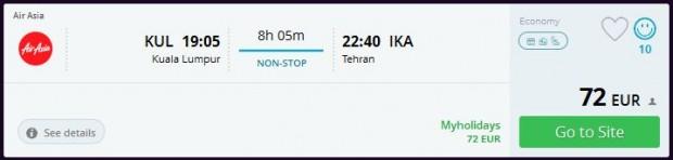 Kuala Lumpur >> Teheran