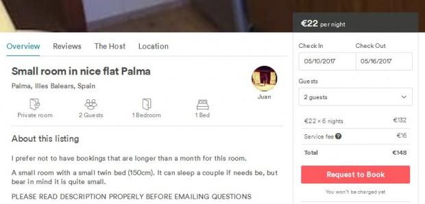 Palma de Mallorca - smještaj