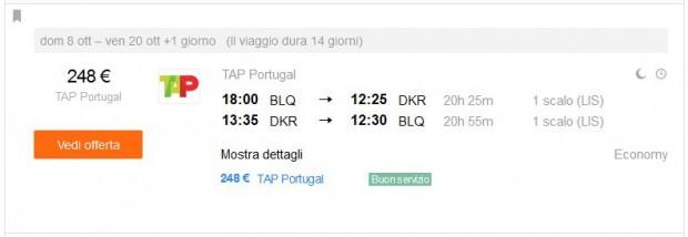 Bologna >> Dakar >> Bologna