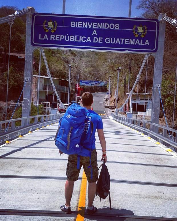 Salvador - Guatemala, granični prijelaz