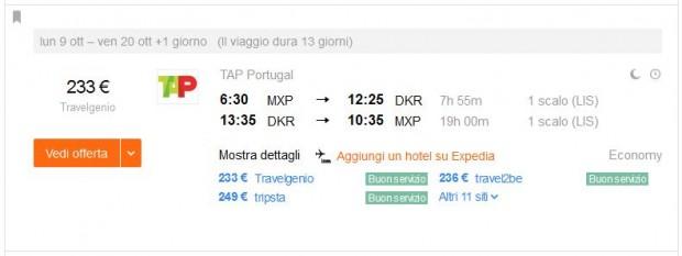 Milano >> Dakar >> Milano