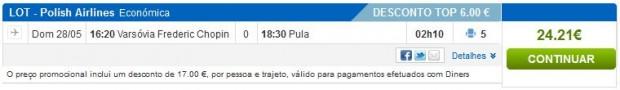 Varšava >> Pula, rumbo.pt stranicama: