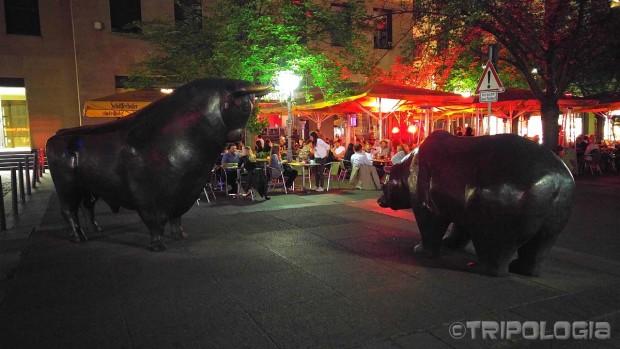Bull & Bear ispred frankfurtske burze