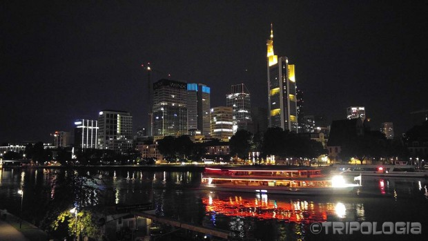 Frankfurt by night
