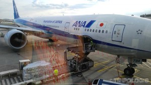 Kako se avion sprema za let u Japan - live