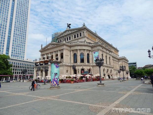 Zgrada frankfurtske opere - Alte Oper