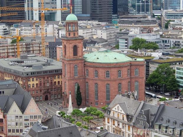 Paulskirche - gledana sa tornja katedrale