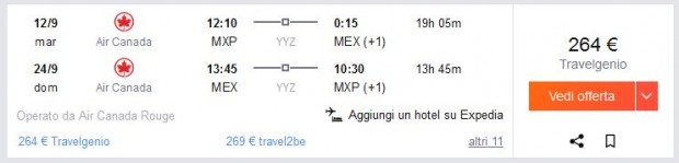 Milano >> Mexico City >> Milano