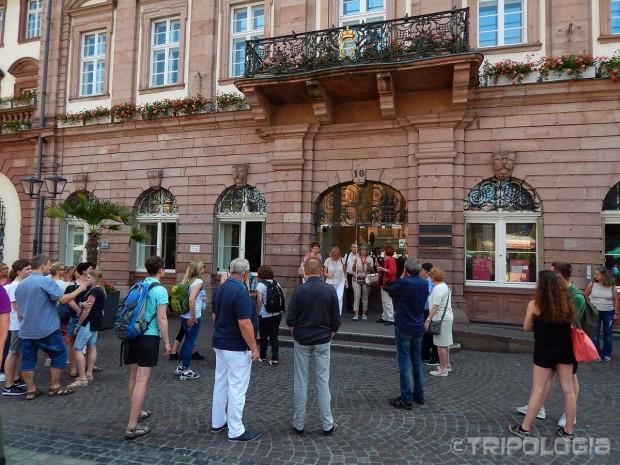 Walking tour - mjesto sastanka ispred Rathausa
