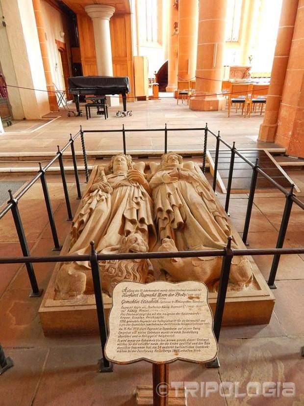 Grobnica njemačkog kralja Ruperta i njegove supruge Elisabeth u crkvi Svetog Duha