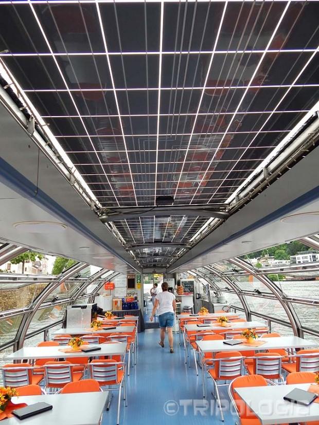 Neckarsonne - solarni paneli iznad broda