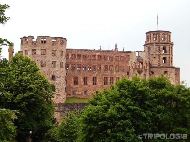 Heidelberger Schloss - najpoznatija ruševina dvorca u Njemačkoj