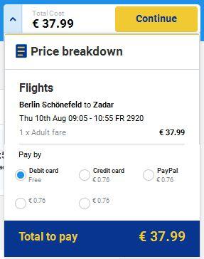 Berlin >> Zadar