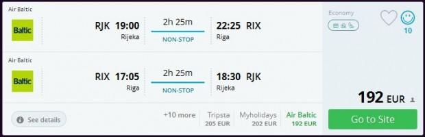 Rijeka >> Riga