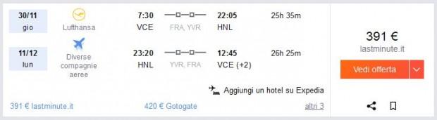 Venecija >> Honolulu >> Venecija
