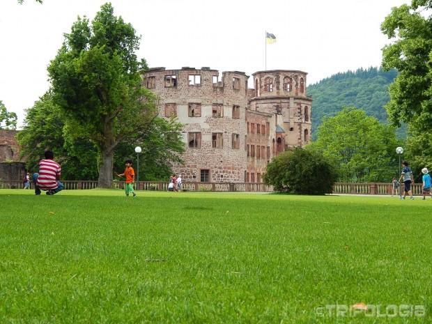 Vrtovi dvorca u Heidelbergu