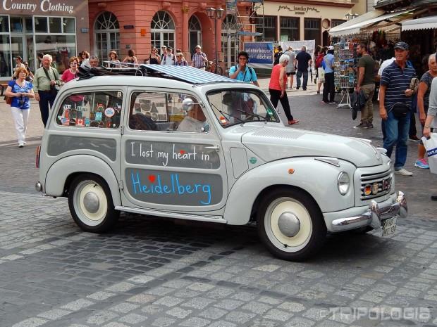 ...oldtimer na Marktplatzu...