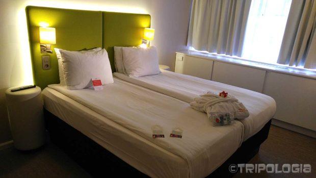 Brussels City Centre hotel, osim udobne spavaće sobe...