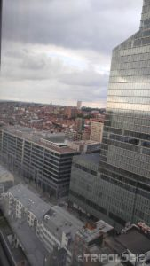 Pogled sa 27.kata Brussels City Centre hotela